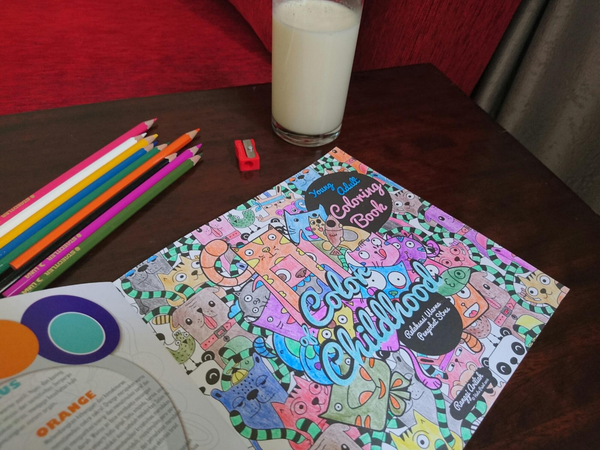 Coloring Book Lumakita